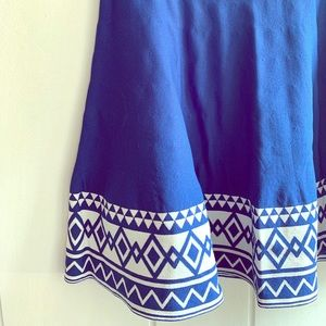Dresses & Skirts - Geometric A-Line Skirt